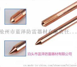 铜包钢接地棒有哪些特点及技术优势