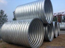 排水用金属镀锌钢波纹管涵