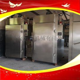 100型红肠豆干熏肉香肠烟熏炉商用熟食烟熏上色机器