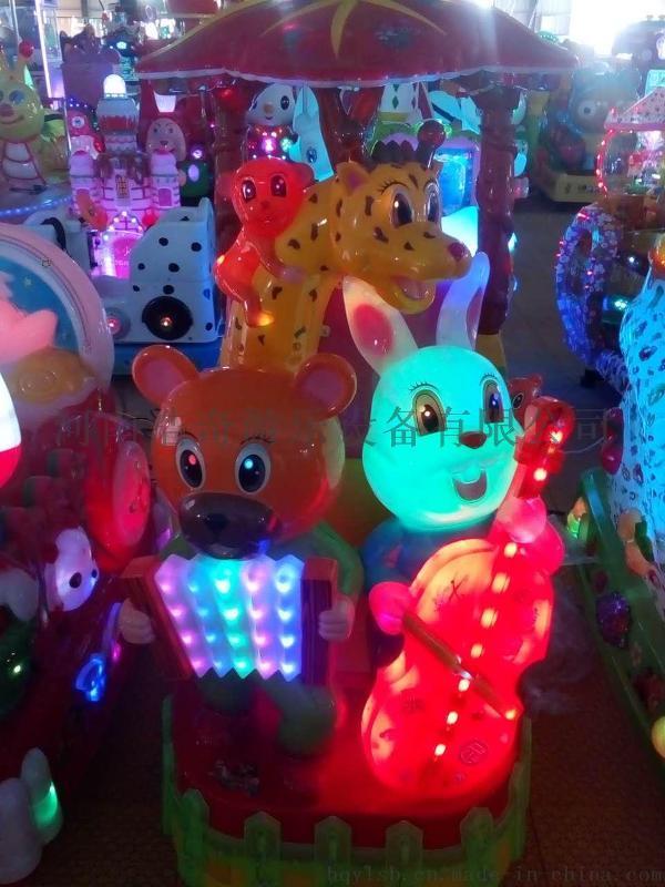 河南鄭州搖擺機廠家兒童投幣機搖搖車遊藝機河南浩奇遊樂設備公司