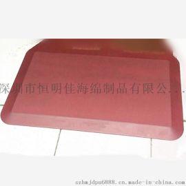 厂家来样订做PU发泡自结皮抗疲劳地垫 高品质聚氨酯发泡自结皮垫