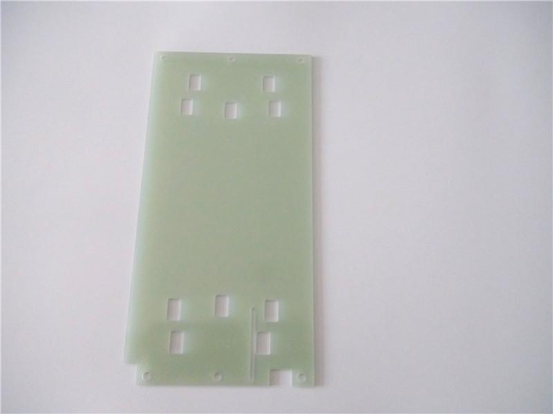 优质绿色玻纤板 绝缘环氧板2.0MM CNC雕刻锣边 环氧板加工厂家