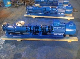 G40-1污水单螺杆泵
