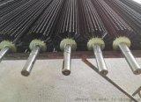 工业毛刷辊/塑料丝毛刷辊/磨料丝毛刷辊