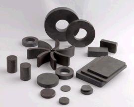磁铁厂家供应铁氧体磁环磁铁 ,永磁材料黑磁