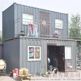 60平方两层保温集装箱住人宿舍楼
