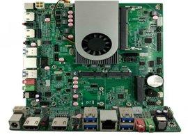 显示4K分辩率4K高清解码2个HDMI口4个USB3.0工控主机电脑板