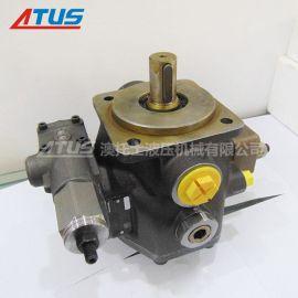 专业维修液压系统维护力士乐油泵PV7-1A25-45RE01MC0-08原装进串口叶片泵液压泵