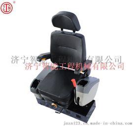 可旋转座椅 前后可调座椅 吸塑发泡型工程车座椅