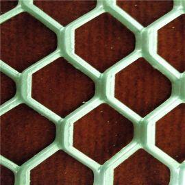 現代室內裝飾新品張拉網焊框粉末噴塗裝飾鋁板網