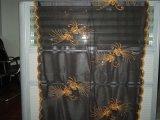 雪紡繡花圍巾 (YLFS-080502)