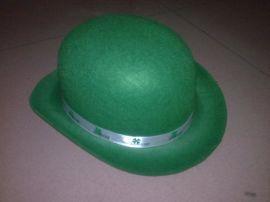 爱尔兰帽子 三叶草帽子 圣帕特里克节日帽子