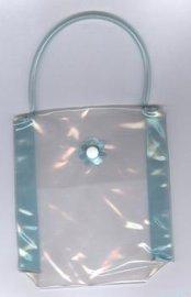 PVC洗漱用品收納包 手提包