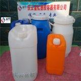 山东6升扁方塑料桶 6L塑料罐