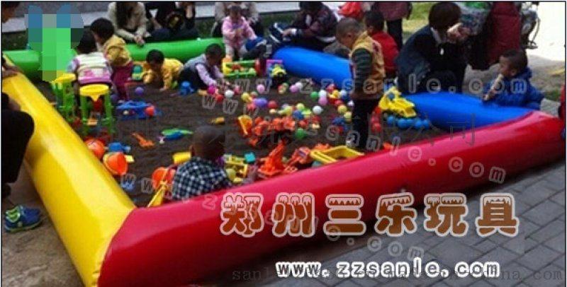 儿童充气沙滩池公园决明子玩具生产厂家