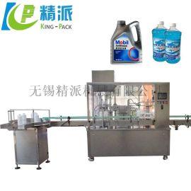 全自动双头液体灌装机 大塑料瓶液体灌装机 洗衣液灌装机