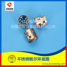 甲醇二氧化碳气提塔用金属不锈钢鲍尔环304鲍尔环
