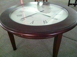 VC-25新款木制时钟咖啡桌