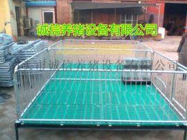 现代养小猪用保育床设备厂低价直销仔猪保育床带漏粪板