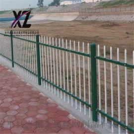 建筑围墙护栏、院墙围栏栅栏、户外锌钢护栏