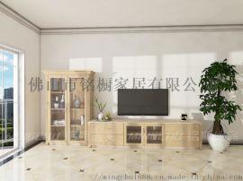 现代简约组合电视柜储物柜