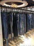 品牌折扣女装18冬新款明星同款金角添琦牛仔裤