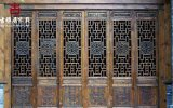 成都實木門窗廠家,房屋中式裝修仿古門窗設計定製