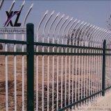 安裝鋅鋼防護欄,小區圍牆防護欄杆,圍牆鋅鋼圍欄結構