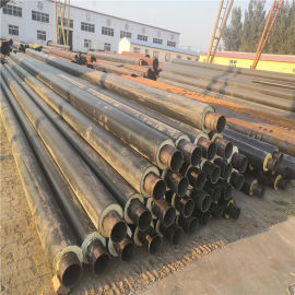三门峡 鑫龙日升 硬质聚氨酯保温管DN800/820直埋热水聚氨酯发泡保温管