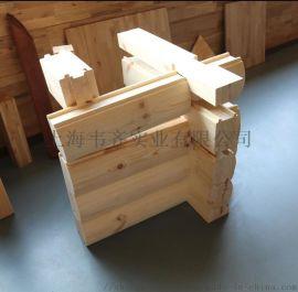 供应木屋墙体 重型木屋墙体 木屋胶合木墙体