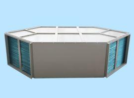 六边形热交换芯体 通风换气 降温除湿畜牧宠物医院用