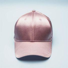 在唐定制棒球帽 丝绸棒球帽 logo刺绣印刷棒球帽