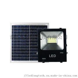不用电费的太阳能led投光灯100w-郎特照明
