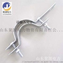 厂家直销 杆用热镀锌抱箍 线杆固定夹具 光缆金具
