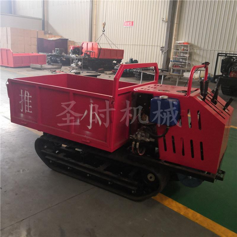 贵阳农用果园履带手推车厂家 多功能小型履带式运输车