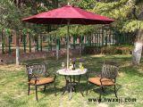 咖啡洞瓷磚圓桌戶外鑄鋁桌椅陽臺休閒桌椅花園傢俱休閒傢俱
