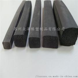 平板密封条 矩形硅胶密封条 异形橡胶密封条