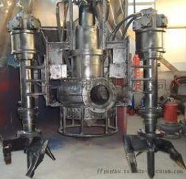 .水陆两用挖机潜水抽沙泵-海边采沙液压沙浆泵