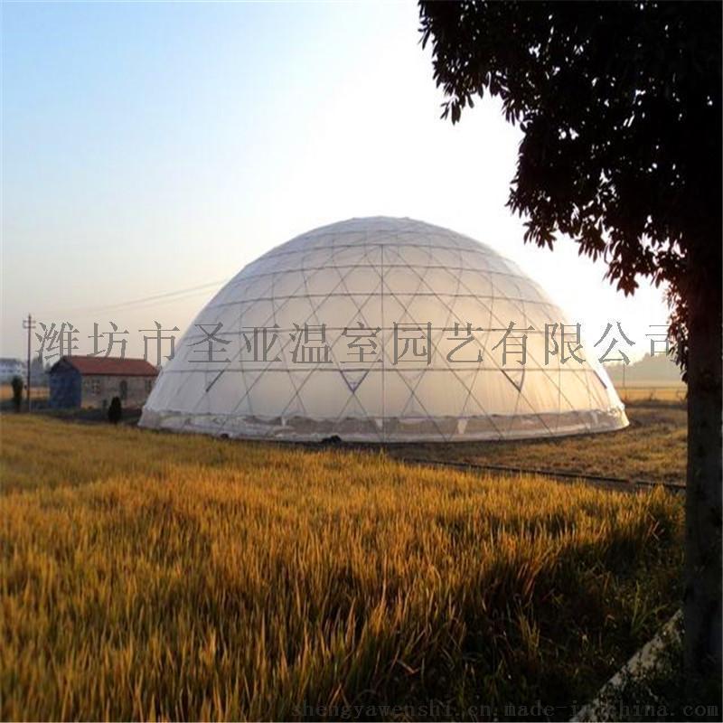 球形溫室工程 鳥巢溫室大棚 鳥巢溫室造價
