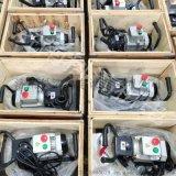 SKF-15数控钢板坡口机 手提倒角机安装示意图