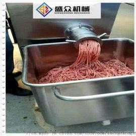 鲜肉绞肉机 鸡骨架大型绞肉机