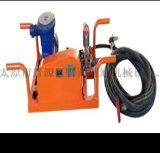 天津宝坻区气动注浆泵抽灰浆用隔膜泵浮杆式矿用风动潜水泵