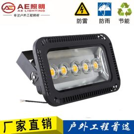 led投光灯户外射灯250W500瓦工矿路灯室外投射照明 高亮250W