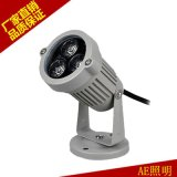 AE照明 LED草坪燈 戶外庭院景觀投射燈具 3W正白