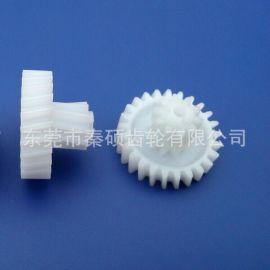 【东莞齿轮厂】M0.8*32T汽摩变速器POM塑胶齿轮精密斜齿轮