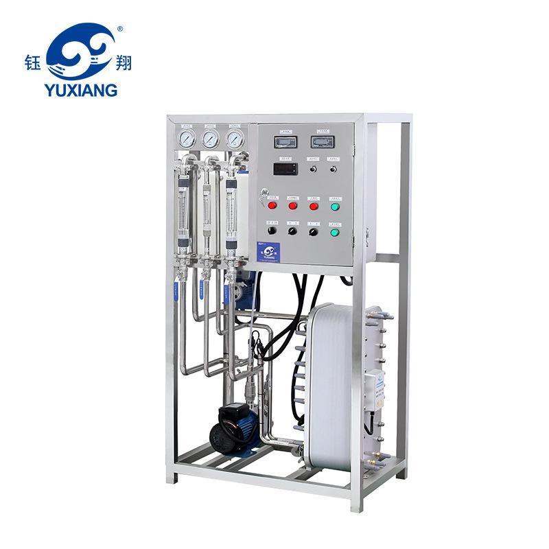 全自动一级反渗透膜水处理 活性炭二级反渗透 不锈钢1T水处理设备