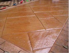 艺术压花地坪,装饰混凝土新技术彩色桓石混凝土