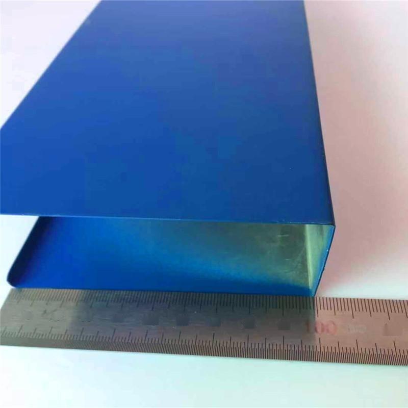 铝方通定制广东厂家热销聚酯粉末U型材铝方通