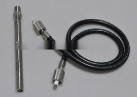 高能点火杆主要由点火头、导电杆点火棒、点火电极、点火咀