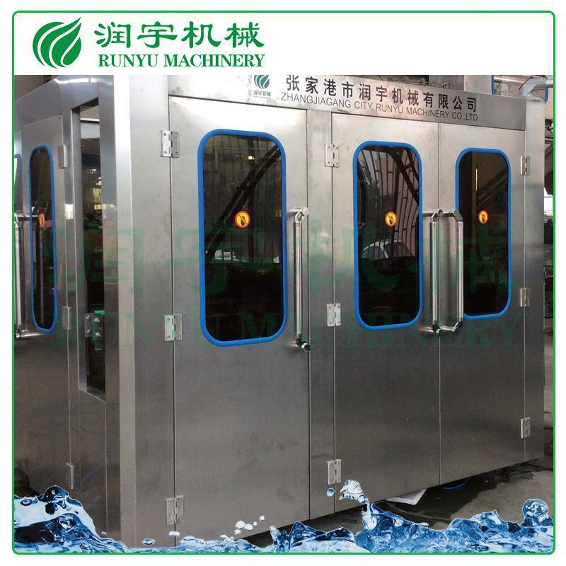 润宇机械厂家直销玻璃瓶果汁灌装机,易拉盖果汁灌装机